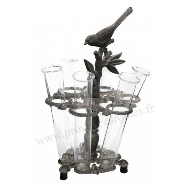 centre de table oiseau soliflores comptoir de famille provence ar mes tendance sud. Black Bedroom Furniture Sets. Home Design Ideas
