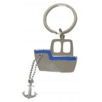 Porte clés bateau porte-clé métal