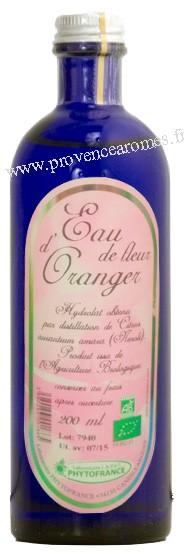 Eau De Fleur D Oranger Neroli Bio Phytofrance Sedatif Tout Ages
