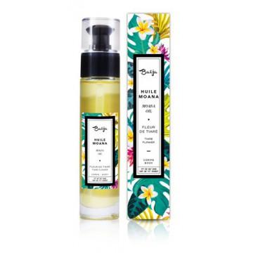 Huile Corps Fleur de Tiaré Moana Baïja - Soin et massage 50 ml