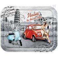 Petit plateau Vespa La Dolce Vita Italia déco rétro vintage