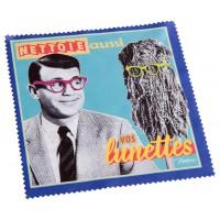 Chiffonnette LUNETTES Natives déco rétro vintage humoristique