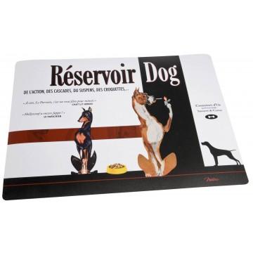 Tapis pour gamelle RÉSERVOIR DOG Natives déco rétro vintage humoristique