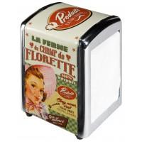 Distributeur de serviettes CHAMP DE FLORETTE Natives déco rétro vintage