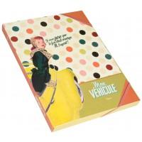 Chemise cartonnée MON VÉHICULE femme Natives déco rétro vintage