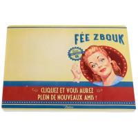 Tapis de souris bloc-notes FÉE ZBOUK Natives déco rétro vintage