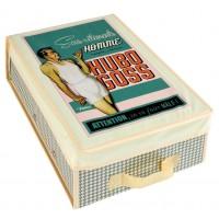 Boîte à lingerie HUGO BOSS Natives déco rétro vintage humoristique