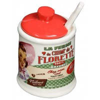 Pot Confiturier CHAMP DE FLORETTE Natives déco rétro vintage