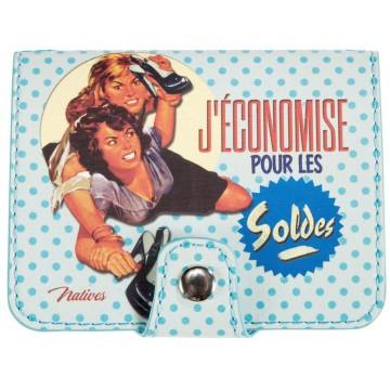 Porte-cartes bancaires SOLDES Natives déco rétro vintage