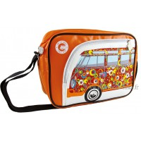 Sac vw combi Volkswagen orange et multicolore à bandoulière Brisa rétro vintage collection