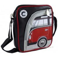 Sacoche rembourrée pour tablette déco vw combi Volkswagen rouge Brisa rétro vintage collection