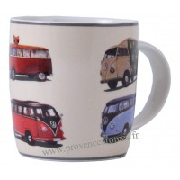 Mug combi Volkswagen Parade en céramique Brisa rétro vintage collection