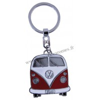 Porte-clés vw combi Volkswagen rouge Brisa rétro vintage collection