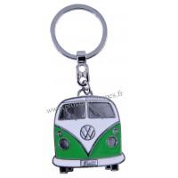 Porte-clés vw combi Volkswagen vert Brisa rétro vintage collection