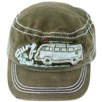 Casquette militaire vw combi Volkswagen Kaki Brisa rétro vintage collection