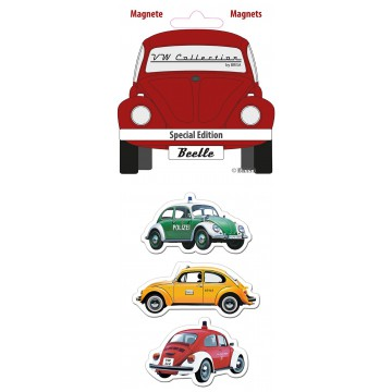 lot de 3 magnets coccinelle édition spéciale Volkswagen Brisa rétro vintage collection