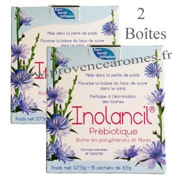 Inolancil Prébiotique naturel Promo 2 boîtes pour perte de poids baisse taux de sucre élimine toxines Euro Santé Diffusion