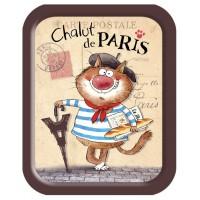 Petit plateau Chat Parisien CHALUT PARIS