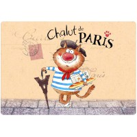 Set de table Chat Parisien CHALUT PARIS