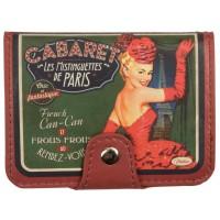 Porte-cartes bancaires CABARET DE PÄRIS Natives déco rétro vintage
