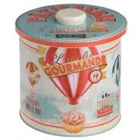 Boîte à biscuits L'ENVOLÉE GOURMANDE Natives déco rétro vintage