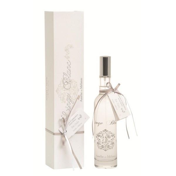 parfum d 39 ambiance linge blanc am lie et m lanie. Black Bedroom Furniture Sets. Home Design Ideas