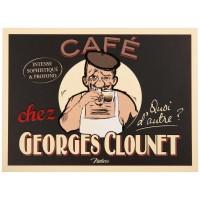 Carte postale GEORGES CLOUNET Natives déco rétro vintage humoristique