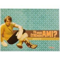 Carte postale MON AMI Natives déco rétro vintage humoristique