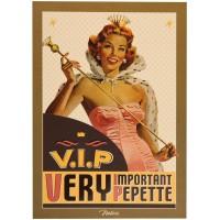 Carte postale V.I.P Natives déco rétro vintage humoristique