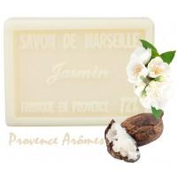 Savon JASMIN au beurre de karité 100 gr Savon de Marseille Pur végétal