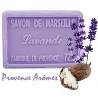 Savon LAVANDE au beurre de karité 100 gr Savon de Marseille Pur végétal