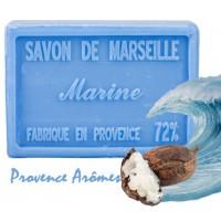 Savon MARINE au beurre de karité 100 gr Savon de Marseille Pur végétal