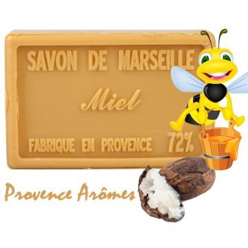 Savon MIEL au beurre de karité 100 gr Savon de Marseille Pur végétal