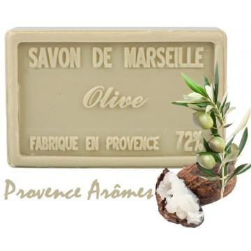Savon OLIVE au beurre de karité 100 gr Savon de Marseille Pur végétal