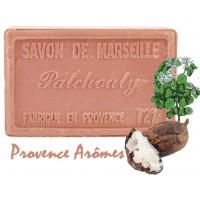 Savon patchouli au beurre de karité 100 gr Savon de Marseille Pur végétal