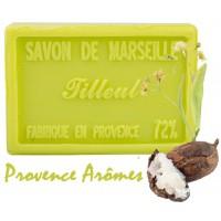 Savon TILLEUL au beurre de karité 100 gr Savon de Marseille Pur végétal