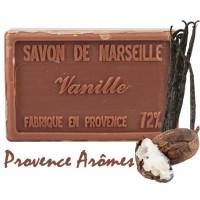 Savon VANILLE au beurre de karité 100 gr Savon de Marseille Pur végétal
