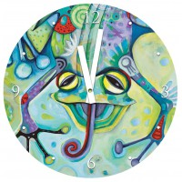 Horloge en verre GRENOUILLE ALLEN DESIGNS