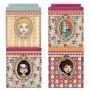 4 boîtes métal empilables Lili Pétrol déco rétro vintage design