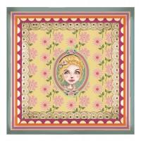 Coupelle en verre CHLOÉ Lili Pétrol déco rétro vintage design