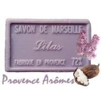 Savon LILAS au beurre de karité 100 gr Savon de Marseille Pur végétal