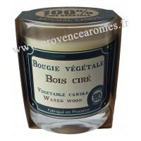 Bougie très parfumée BOIS CIRÉ à la cire végétale