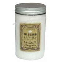 Sel de bain à l'huile essentielle de LAVANDE Un été en Provence