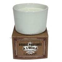Bougie à l'huile essentielle de LAVANDE Un été en Provence