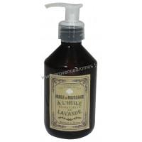 Huile de massage à l'huile essentielle de LAVANDE Un été en Provence