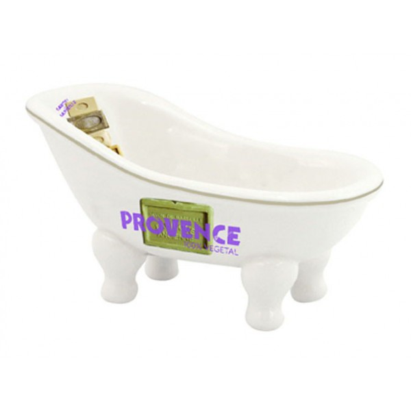 Porte savon baignoire ancienne d co savon de marseille for Porte savon pour baignoire