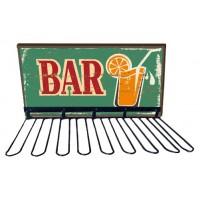 Rack support verres BAR déco rétro vintage