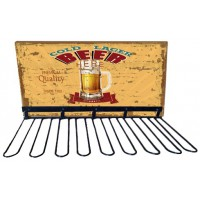 Rack support verres BEER déco rétro vintage