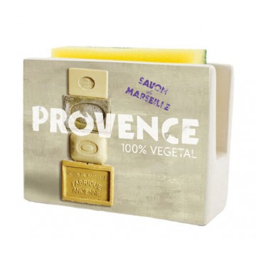Porte-éponge SAVON DE MARSEILLE PROVENCE 100% Végétale