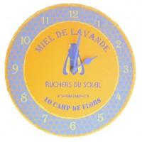 Horloge MIEL DE LAVANDE
